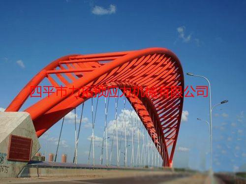 长春公路工程处一余高速公路伊通河大桥